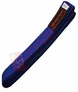 Пояс для карате из хлопка - 270 см. Синий