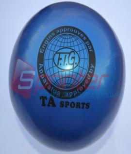 """Мяч для художественной гимнастики """"TA sport T-11"""" - 15 см. Синий"""