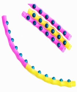 Обруч пластиковый разборный Magnetic Hoop - 94 см. 2077