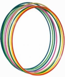 Обруч стальной цветной гимнастический 96 см. Вес: 0.9 кг. Украина