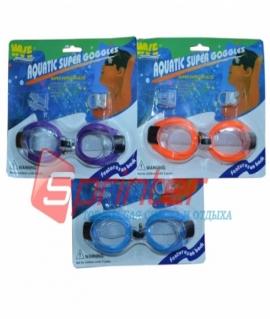 Набор: очки,беруши и зажим для носа.2105