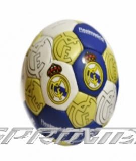 """Мяч футбольный """"Real Madrid"""" из прессованной кожи. 9"""