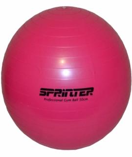 """Мяч для фитнеса """"GYM BALL"""" розовый. Диаметр: 55 см. G55"""