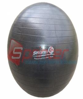 """Мяч для фитнеса """"Anti-burst GYM BALL"""" чёрный (матовый). Диаметр: 75 см. FB-75"""