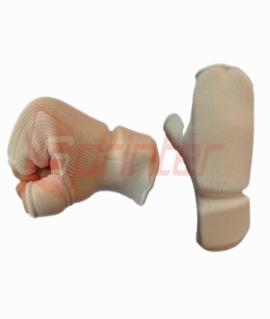 Защита кисти из хлопка с эластиком - L. Белая J715