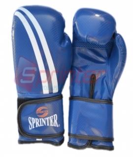 Перчатки боксерские иск.кожа SPRINTER  Champion. Цвет:синий. Размер-вес: 12.258-313
