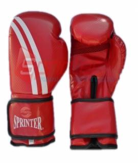Перчатки боксерские иск.кожа SPRINTER  Champion. Цвет:красный. Размер-вес: 12.258-313