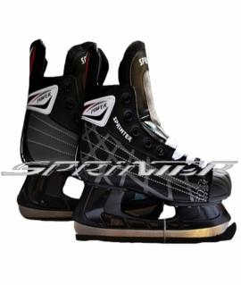 Хоккейные коньки. Размеры: 42 PW-206А (Чёрный)