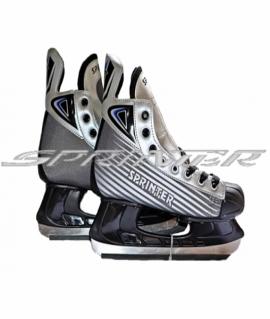 Хоккейные коньки. Размер: 39 PW-206В (Серый)